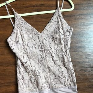 Express lace body suit